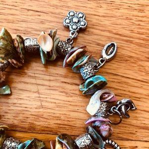 Jewelry - Colorful Shell Charm Bracelet